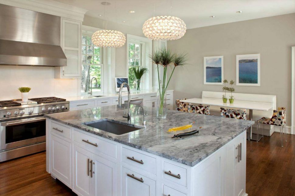 Image Result For Best Quartz Countertops For White Cabinets