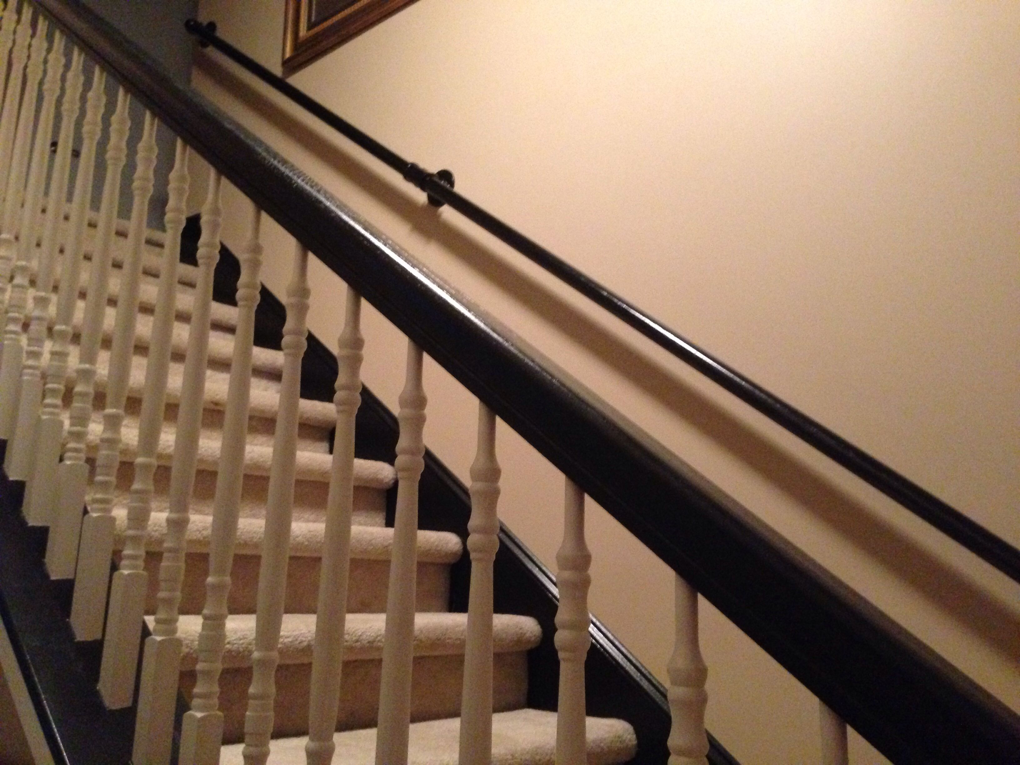 Pin On My Home Is My Castle | Gas Pipe Stair Railing