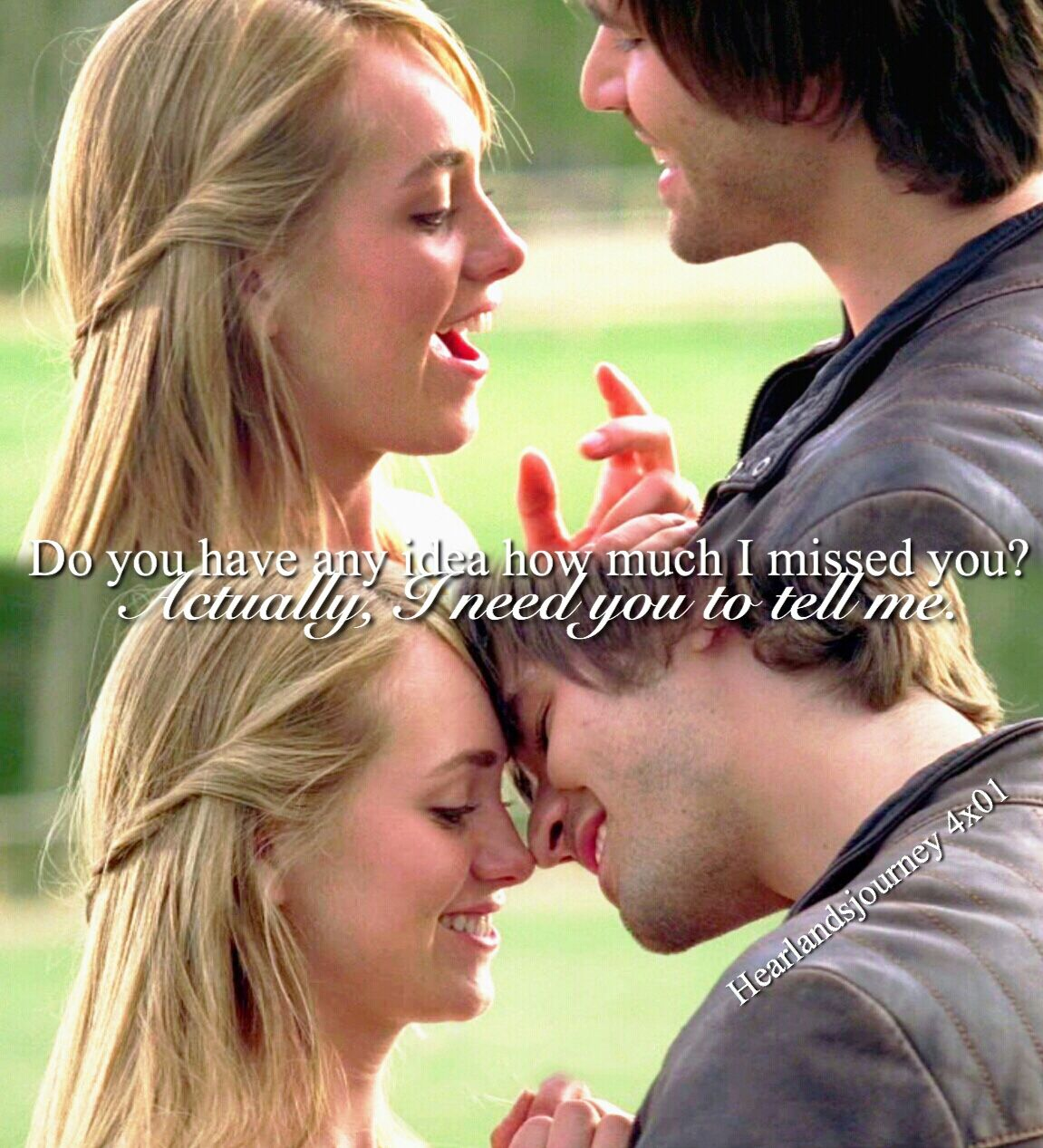 Do You Have Any Idea How Much I Missed You Amy Ty Season 4 Episode 01 Heartland Ty Heartland Heartland Amy