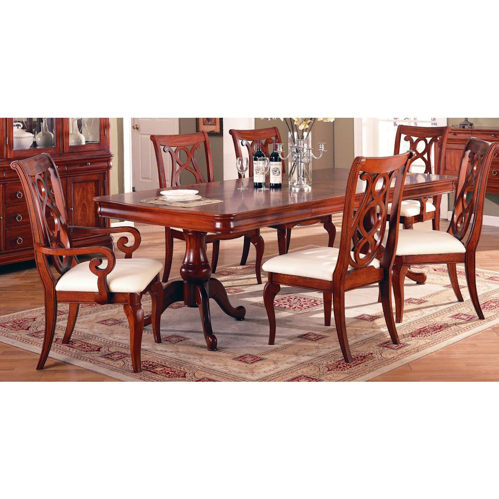 King Louis Seven Piece Dining Room Set Bernie And Phyls