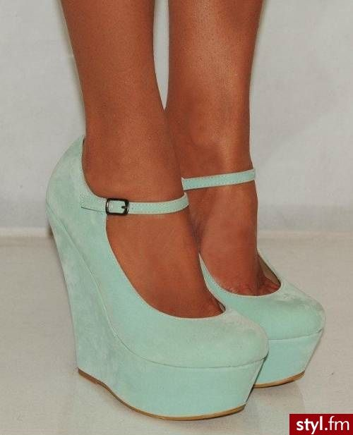 Moda Buty Koturny Heels Crazy Shoes Me Too Shoes