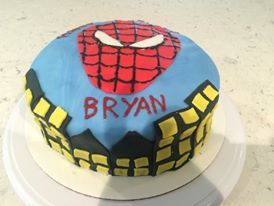 Spiderman Cake by Dhanu A.