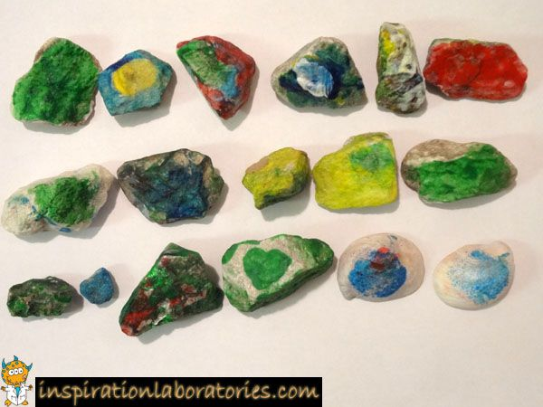 rock collection painting