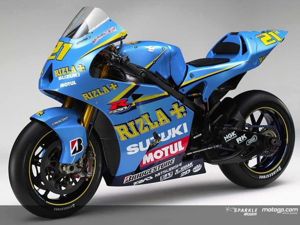 Suzuki Moto Gp Got A New Sponsor Today, Been In BSB For A While But Here It  Is On The Gsv R, Looks Miles Better Than Last Years Colours