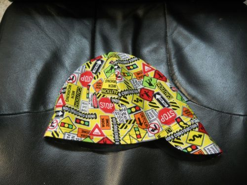 Wendys Welding  Hat Made With Paisley Print Fabric NEW!!