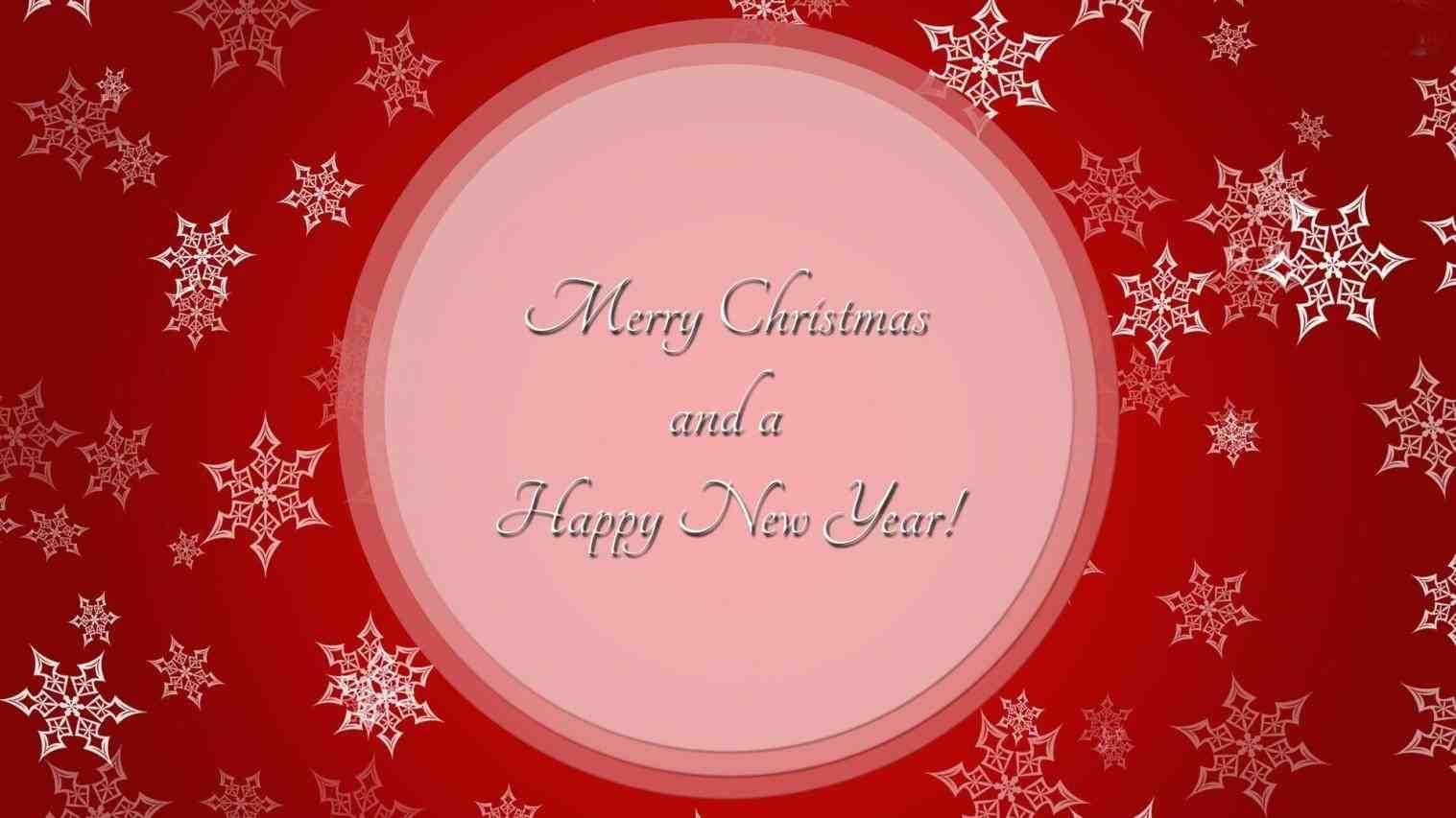 Merry Christmas And Happy New Year 2017 Greetings Happy New Year