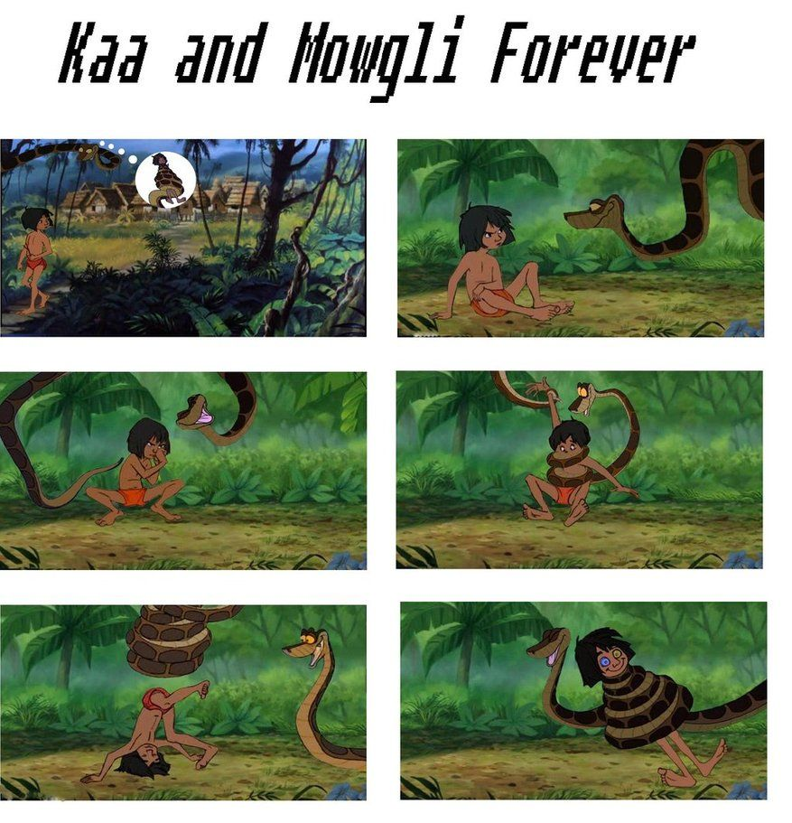 Kaa and Mowgli forever by pasta79 on DeviantArt | Kaa the Snake