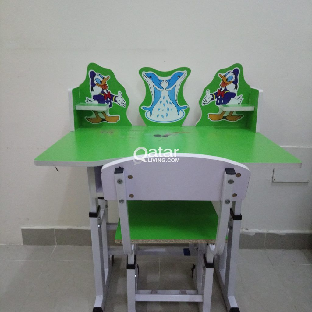 Study Table In Qatar Kids Study Table Qatar Living Ikea Study Table With Chair In Qatar Fridaymarket Study Study Table Kids Study Table Study Table And Chair