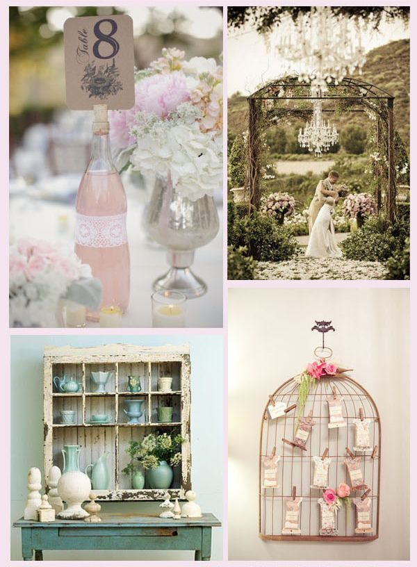 shabby chic wedding ideas | shabby-chic #wedding | Wedding