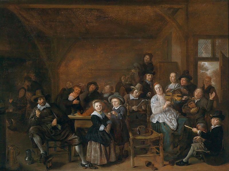 Jan Miense Molenaer (Fröhliche Gesellschaft in einer Wirtsstube)