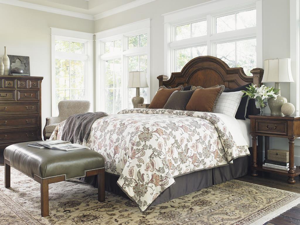 Lexington Bedroom Roxbury Panel Headboard King HB - Louis shanks bedroom furniture