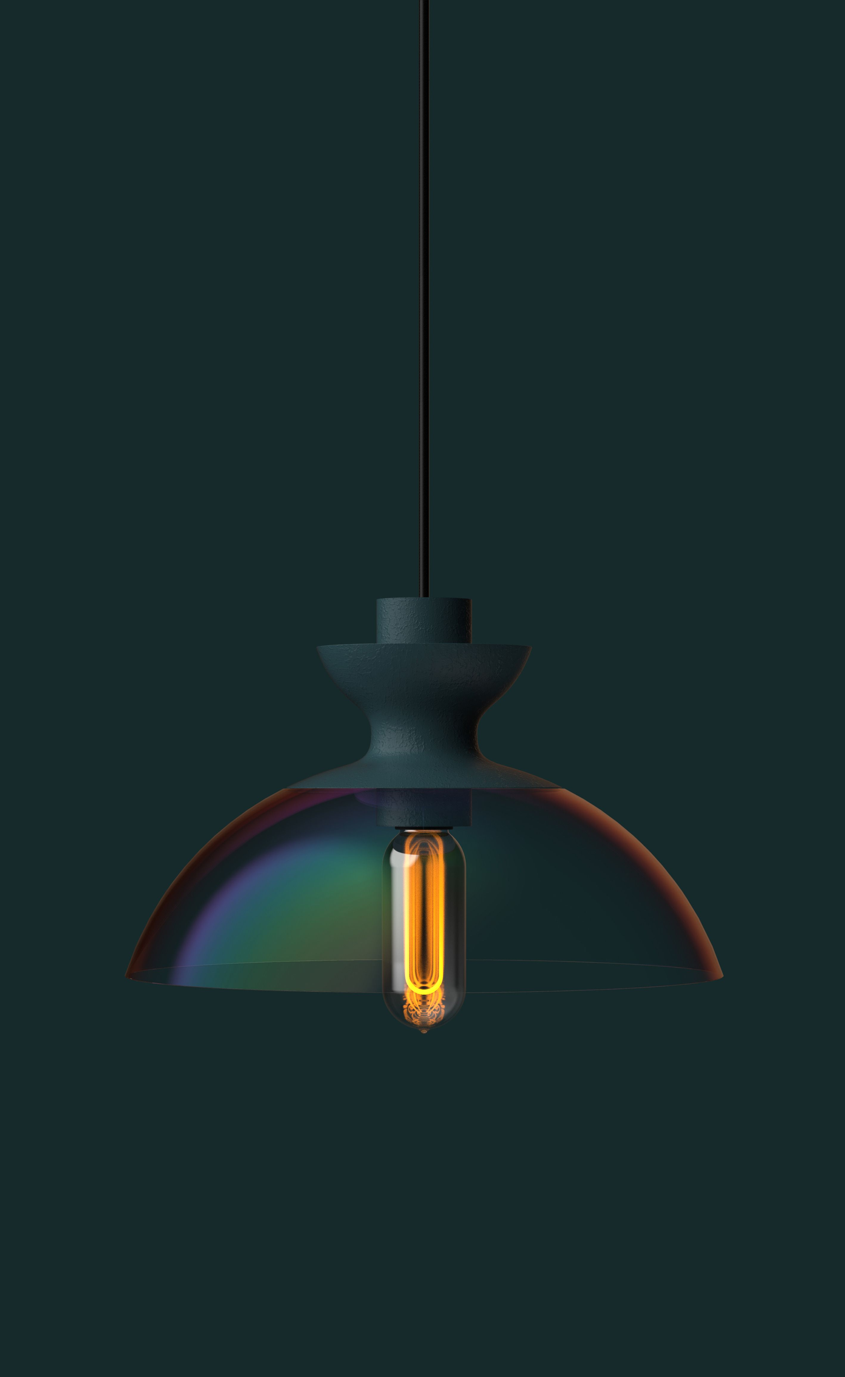 We love the light sheen of colour this lamp emits. #HLYTRNTY