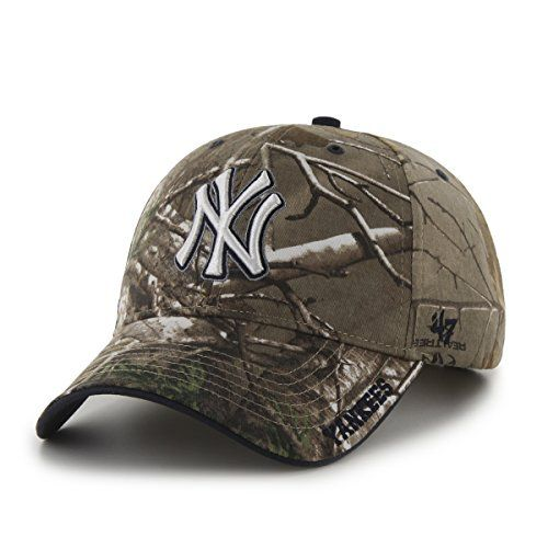 Robot Check Camouflage Hat New York Yankees Fitted Hats