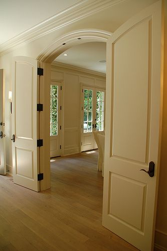 The Arched Doorways Remind Me Of Our First Home Charming