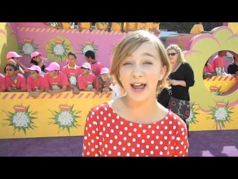 Interview with Madeleine Rose Yen Kids Choice Awards 2013