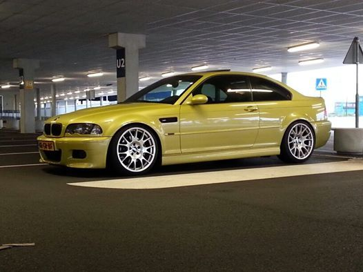 Bmw E46 M3 Phoenix Yellow Bmw Wheels Bmw Bmw E46 Bmw M3