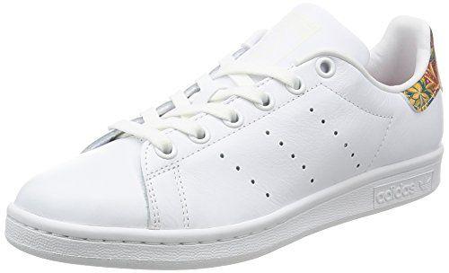 Adidas Stan Smith, Zapatillas de Tenis Zapatillas de Tenis para Hombre, Blanco (Ftwwht/Ftwwht/Green Ftwwht/Ftwwht/Green), 38