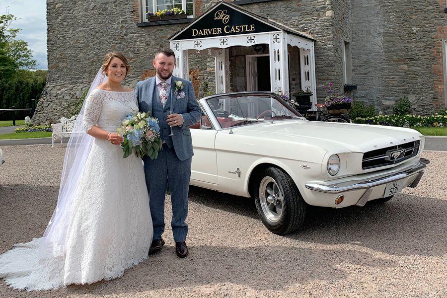 Mustang Wedding Car Ni Ford Mustang 1965 Wedding Car Red Mustang