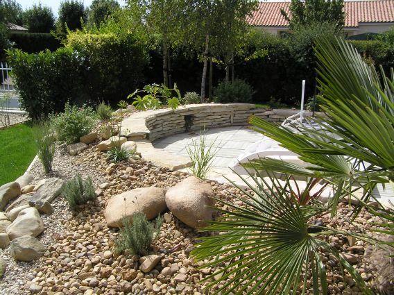 Paysagiste et aménagement paysager Poitiers - Aménagement autour d - amenagement autour d une piscine