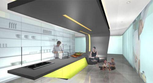 futuristic kitchen design electrolux icon appliances | for the