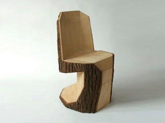 Tree Stump Chair.