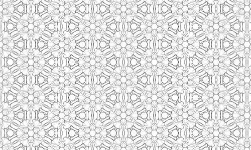 Very elegant Black and White pattern