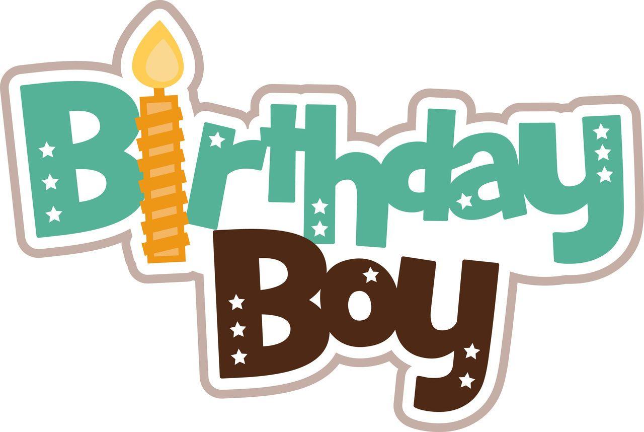 PPbN Designs - Birthday Boy Title, $0.50 (http://www ...