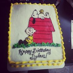 Image result for charlie brown sheet cake Parties Pinterest