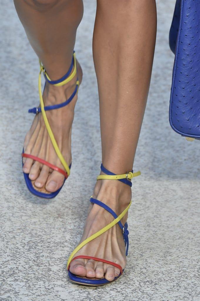 Salvatore Ferragamo Shoes on the Runway at Milan Fashion Week