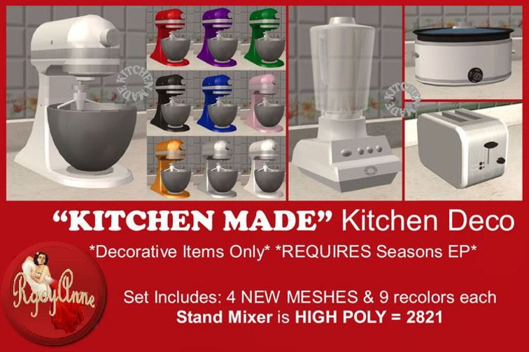 """""""Kitchen Made"""" Mixer, Blender, Crockpot, & Toaster"""