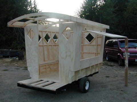 how to make a gypsy wagon