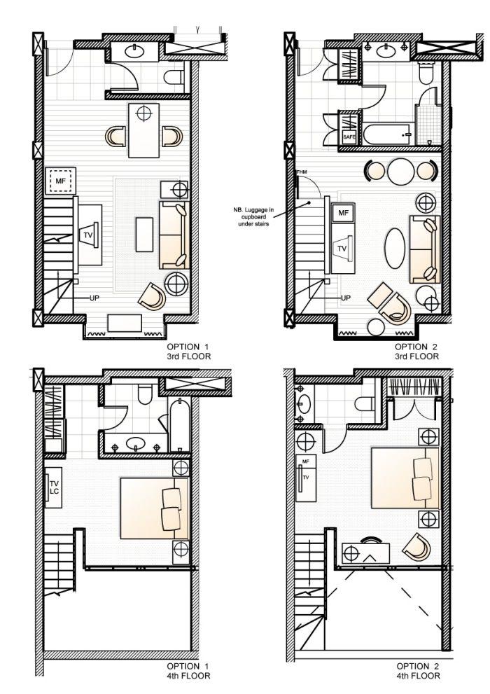 Hotel interior design by matthew smith at coroflot plans pinterest interiors plan and bathroom layout also rh za