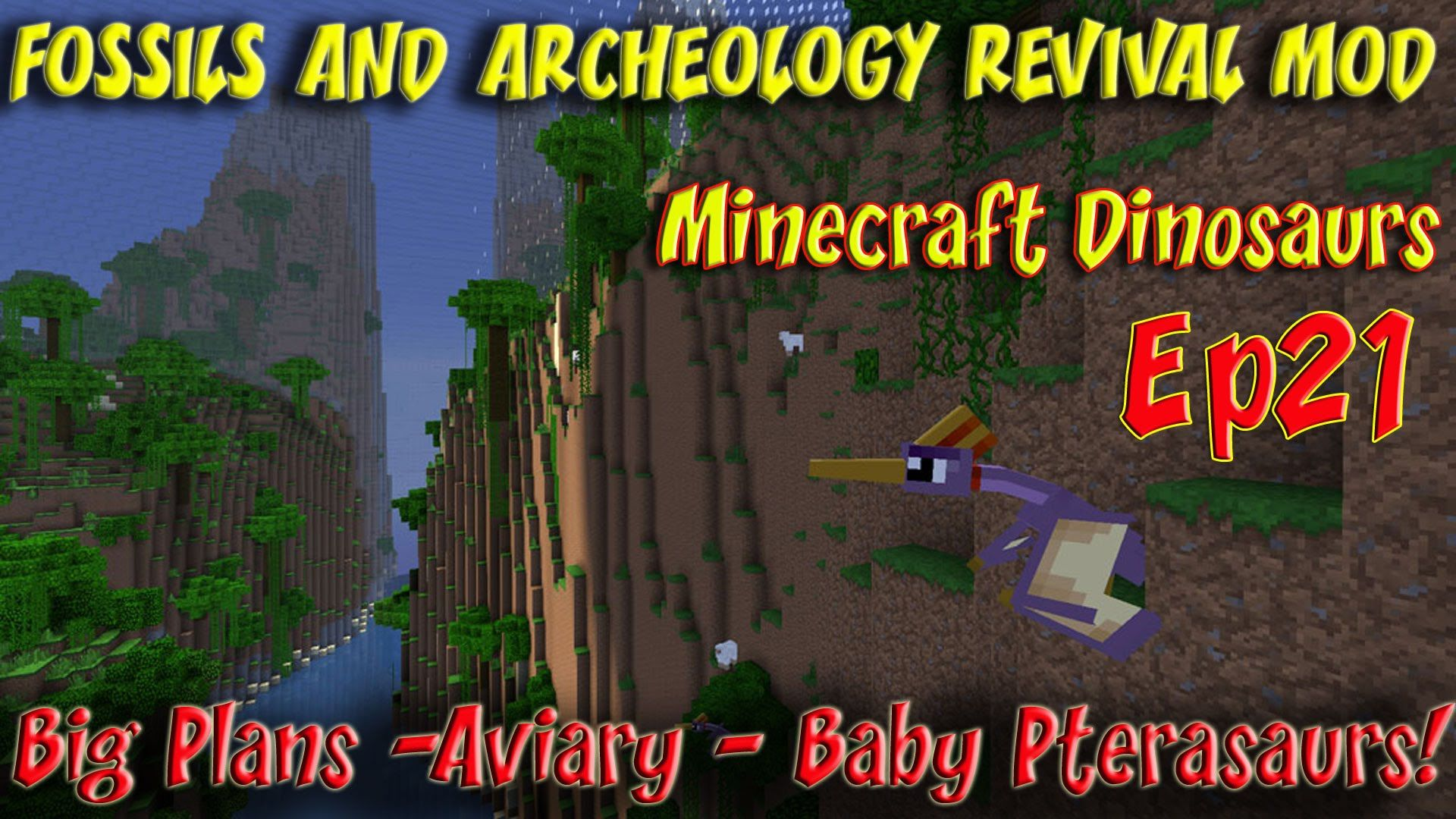 Fossils and Archeology Revival Mod Minecraft Jurassic