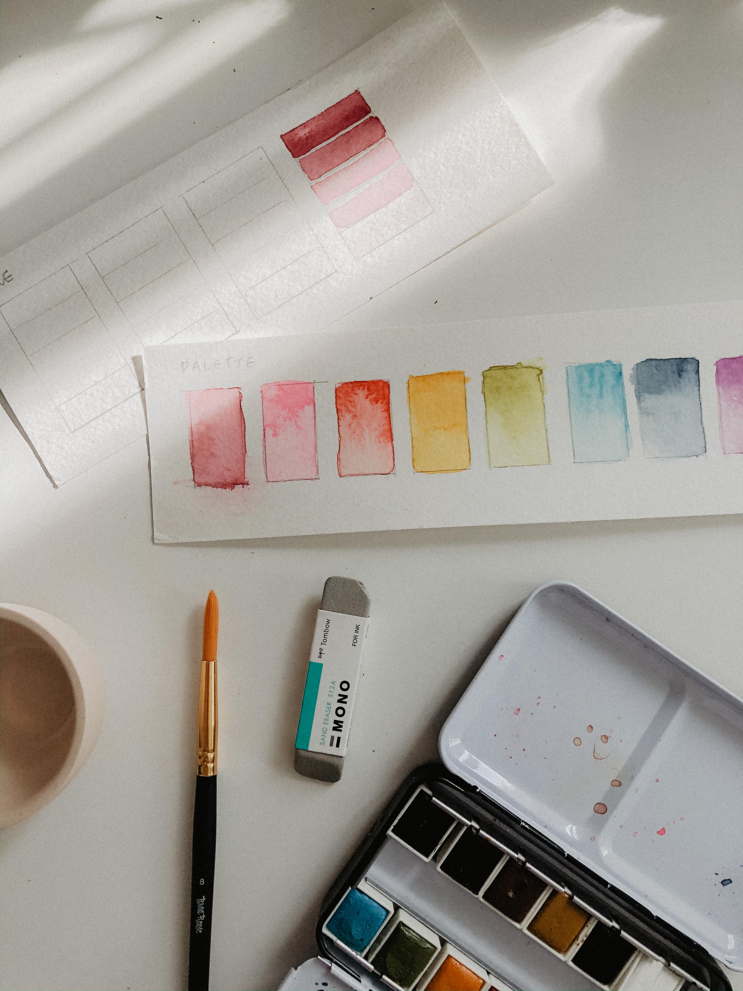 Art Techniques Watercolor Basics In