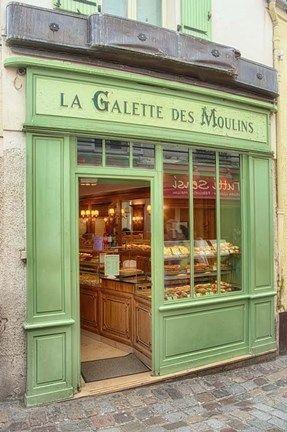 Cora Niele La Galette De Moulins Shop Fronts Store Fronts Shop