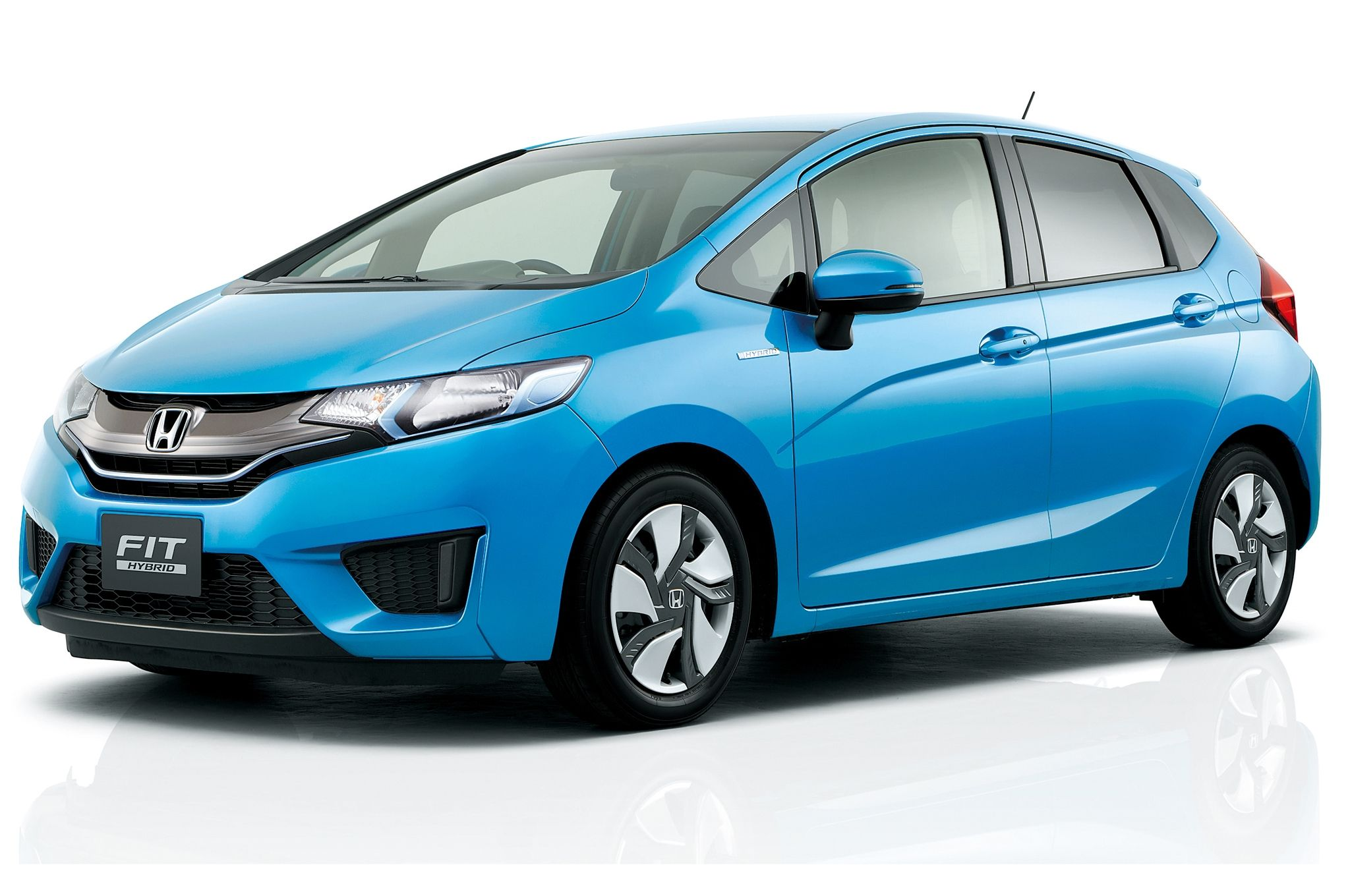 Honda Fit 2015 Blue Edition 2015hondafit Car Autos Review