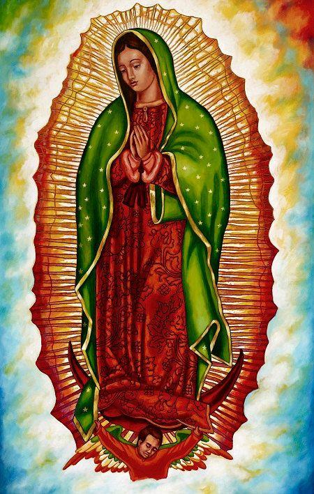 Virgen de guadalupe framed giclee on canvas tattoos imagenes virgen de guadalupe virgen - Images of la virgen de guadalupe ...