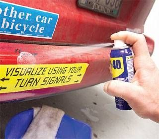 How To Remove Stickers From Metal Sticker Removal Cleaning