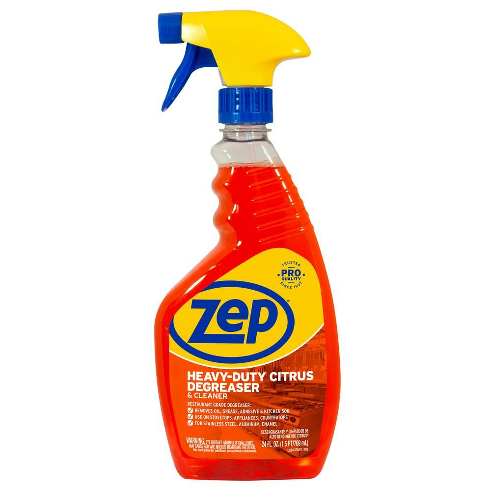 Zep 24 Oz Heavy Duty Citrus Degreaser Zucit24