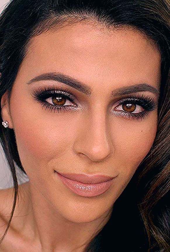 Photo of – Natural Makeup for Brown Eyes – FacesHairStylist.Com – FacesHairStylist