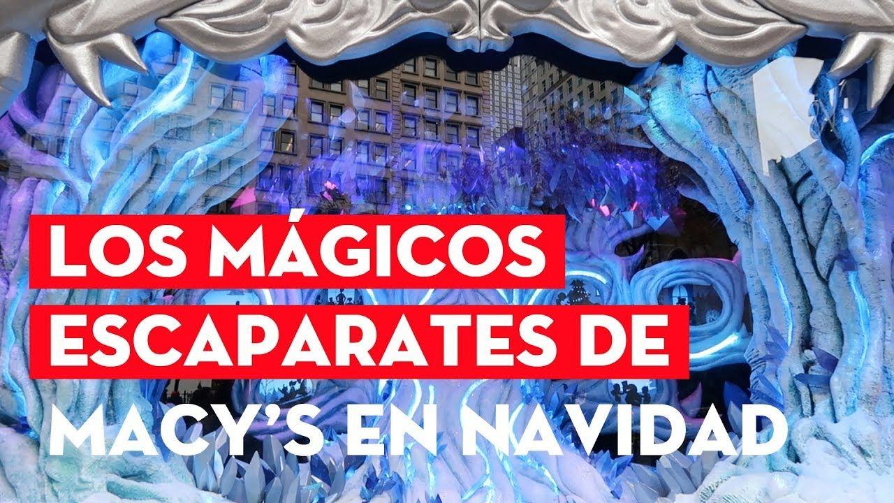 Los Mágicos Escaparates De Macy S En Navidad Nuevayork Nyc Manhattan Nuevayorkturismo Nueva York Navidad Escaparates Nueva York Turismo