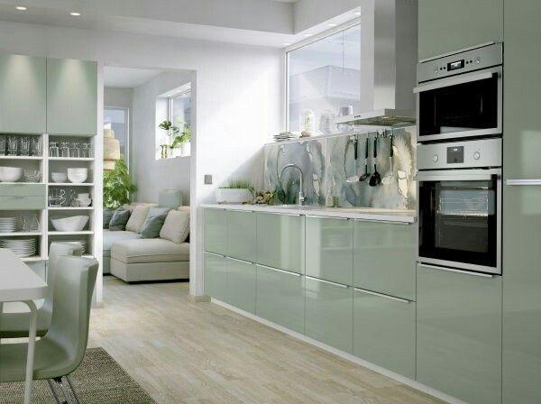 Metod Kallarp Green Ikea Kitchen Dekoration Pinterest Kitchen