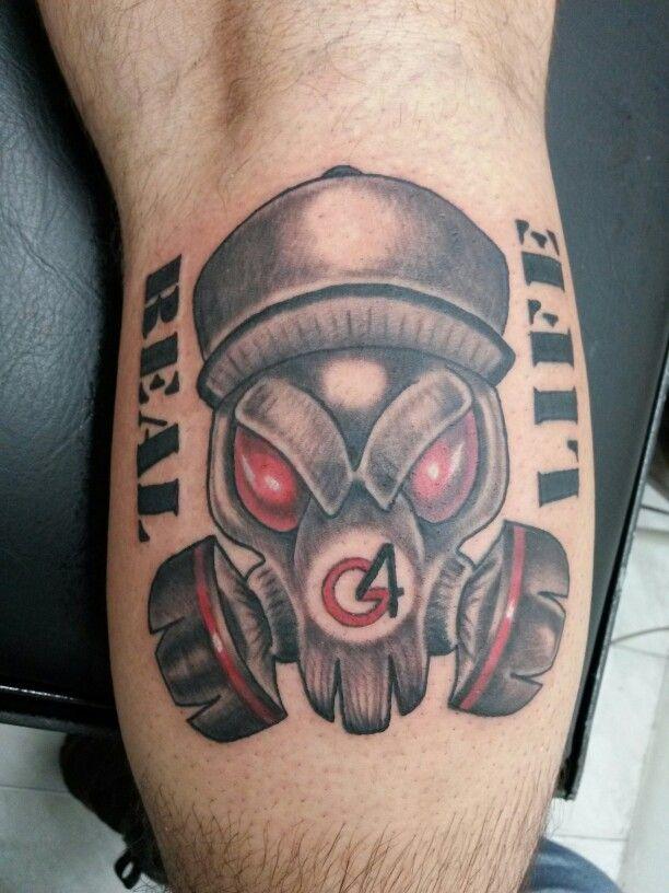 Real G4 Life Life Tattoos Tattoos Skull Tattoo
