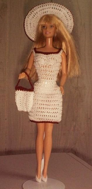Barbie Dress Free Pattern Dolls Clothes Pinterest Barbie