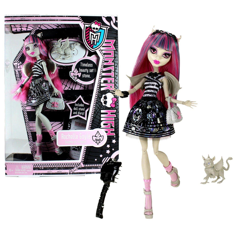 Uncategorized Monster High Gargoyle monster high rochelle goyle daughter of a gargoyle doll with pet roux
