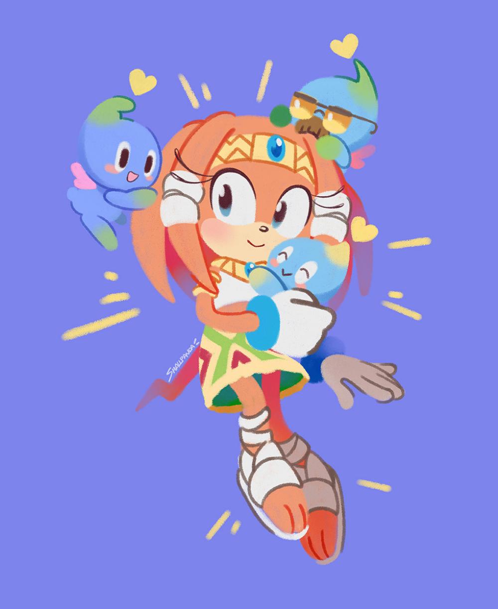 Tikal The Echidna 0smallpanda0 Ray Of Light In 2020 Sonic Fan Characters Echidna Tikal