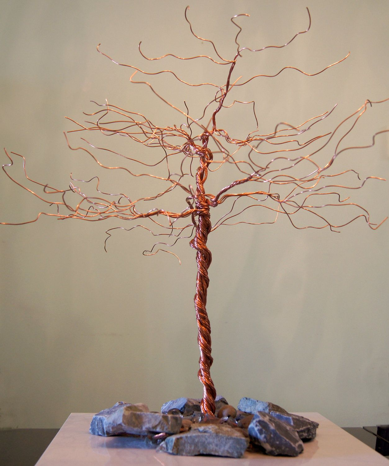 Jewelry Stand, Hair Extensions Display, Necklaces Holder, Earrings Display,  Wire Tree,