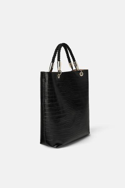 Mala Shopper Com Al 231 A Entran 231 Ada Em 2019 Sacos Bolsa