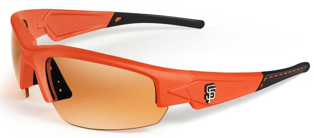San Francisco Giants Sunglasses - Dynasty 2.0 Orange with Black Tips