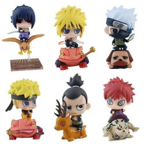 Figures Set of 6Pcs Anime Naruto Shippuden Toy Figure Figurine Doll Series